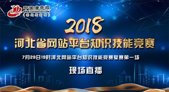 【直播回放】河北省网站平台知识技能竞赛复赛第一场