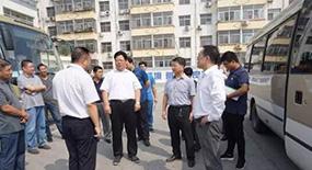 徐水区委书记苏树锋、政府区长李志永带队巡查创城工作