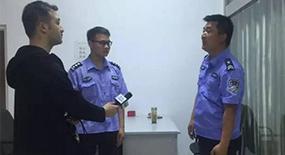 景区工作人员许焕友、郑建旭救助落水游客