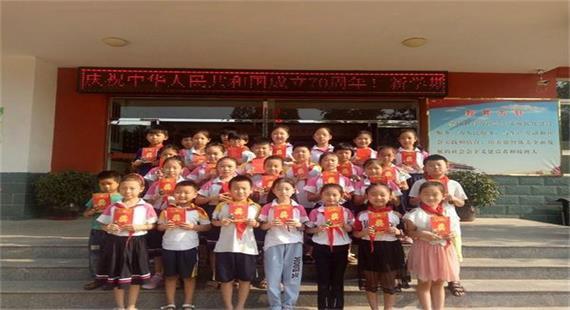 【向国旗敬礼】石佛学区开展迎国庆朗诵、讲故事主题活动
