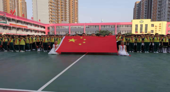 """【向国旗敬礼】向阳学区组织开展""""向国旗敬礼 同唱国歌""""合唱比赛"""