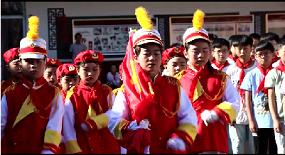 【童心向黨】高陽縣東街小學 共唱《國歌》