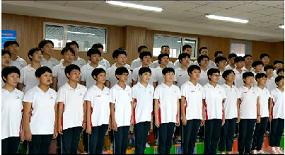 【童心向黨】安國實驗中學共唱《打靶歸來》