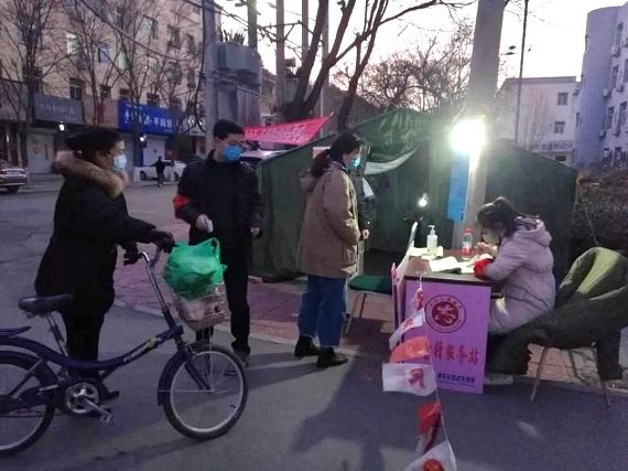 """清苑区大学生志愿者抗""""疫""""战场作贡献!"""