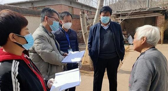 涞水县医疗保障局:脱贫攻坚入户走访暖人心