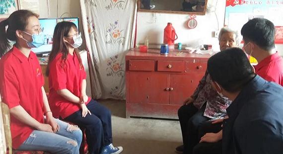 """国网安国市供电公司开展""""五四""""青年节走访慰问活动"""