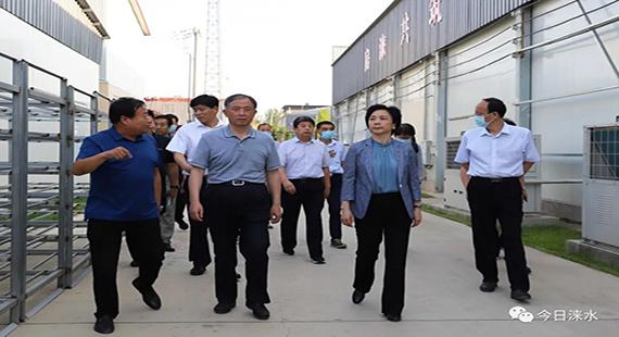 国务院扶贫办副主任陈志刚到涞水县调研脱贫攻坚工作