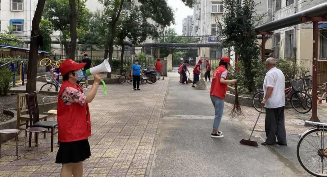 和平里街道法院街社区:小喇叭做宣传,文明城大家创