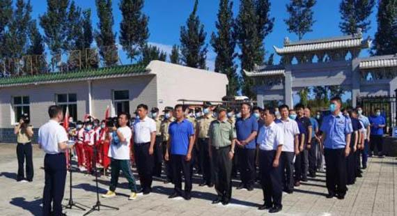 定興縣開展抗日戰爭勝利暨世界反法西斯勝利75周年紀念活動