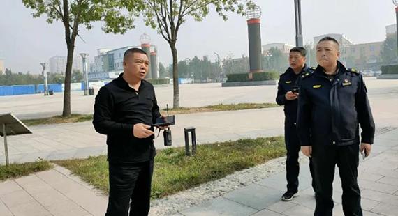 徐水区执法局吹响冲锋的号角 决胜创城