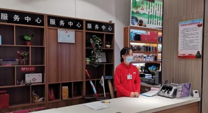 为创城工作增光添彩,唐县超市创城宣传氛围浓厚
