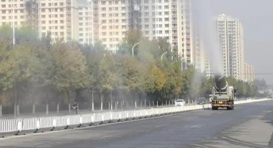 唐县执法局全员奋战创城一线