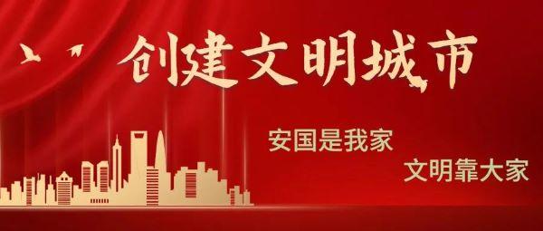 安国市人大常委会组织人大代表对2020年创建省级文明城市进行集中视察