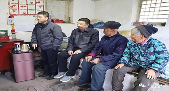 涞水县爱心企业进村入户助力脱贫攻坚