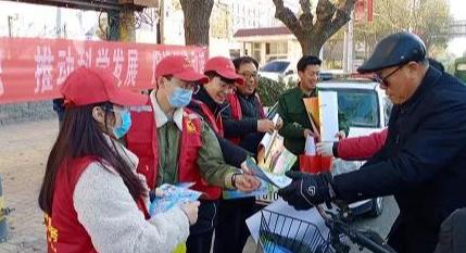 """顺平团县委开展""""12·4""""国家宪法日法治宣传活动"""