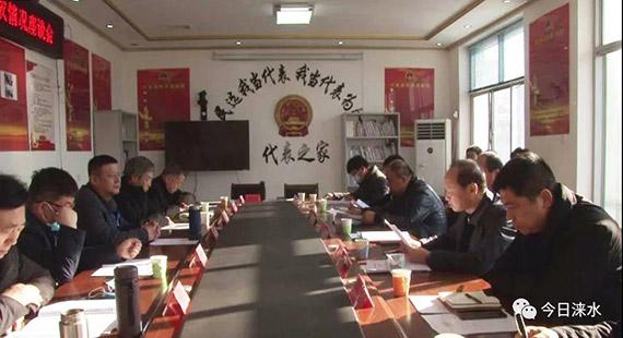 涞水县人大常委会对议案办理和民生实事项目完成情况进行视察
