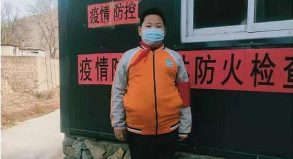 """涞水三坡学区爱心小学开展""""童心同力同抗疫""""主题活动"""