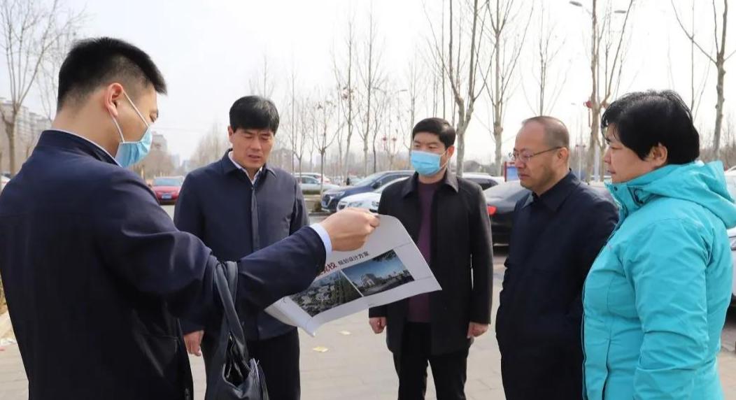 涞水县委书记王江对中共涞水县委党校新址进行调研