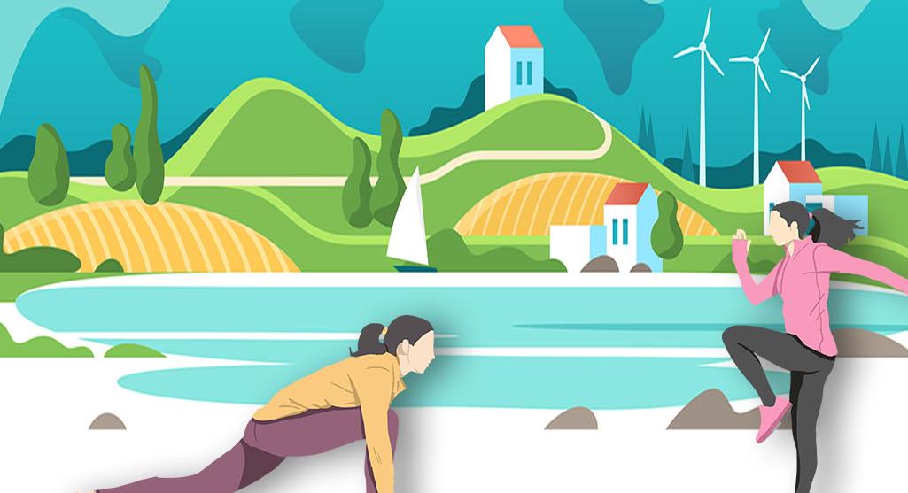 海报|倡导文明健康生活方式