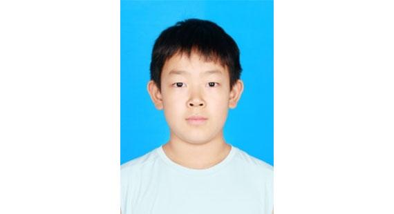 【新時代好少年】冉檸赫:誠信守禮、有強烈責任感的好少年