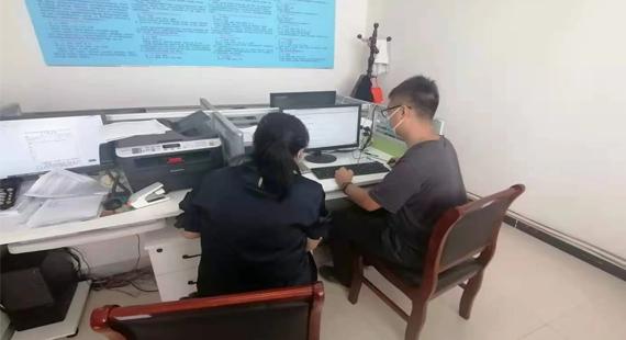 涞水网信办组织开展网络安全督导检查 全力保障疫情防控期间网络信息安全