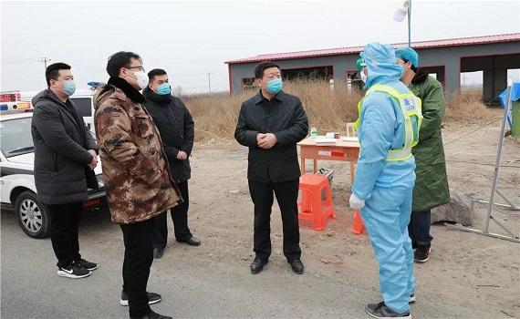 崔建民到阳城镇、冉庄镇指导检查疫情防控工作