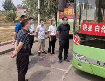 唐县县委副书记、县长孟辉深入文明城市创建实地点位开展督导检查工作