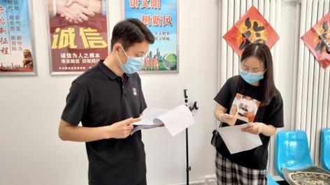 唐县创城办检查组检查指导城区常态化创城工作
